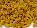 Barrier Coated Honeycomb Granules