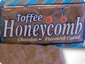 Chocolate Covered Honeycomb Bars
